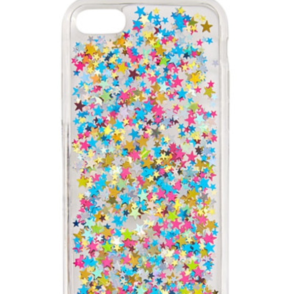 various colors a96e3 c0fd7 Skinnydip London Glitter Jelly iPhone 7 Case NWT